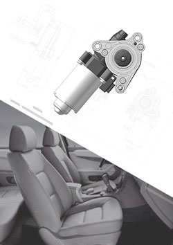 Power Seat Adjustment Motor