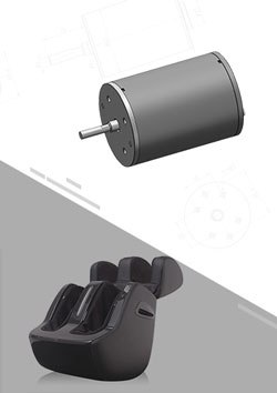 Foot Massager DC Motor