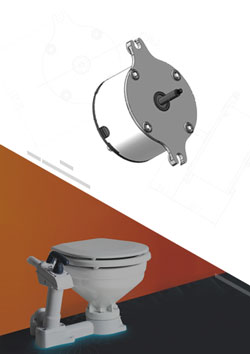 Toilet Water Pump DC Motor