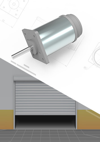 New High Performance Garage Door Motor
