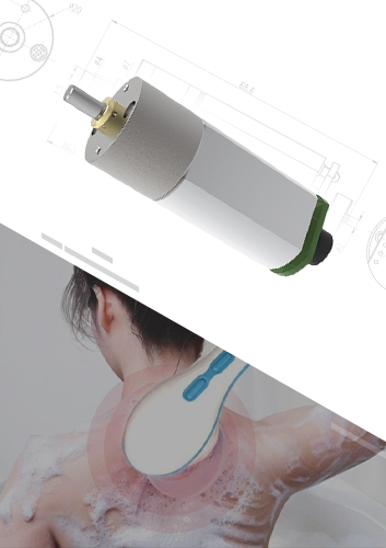 Skin Massager Gear Motor