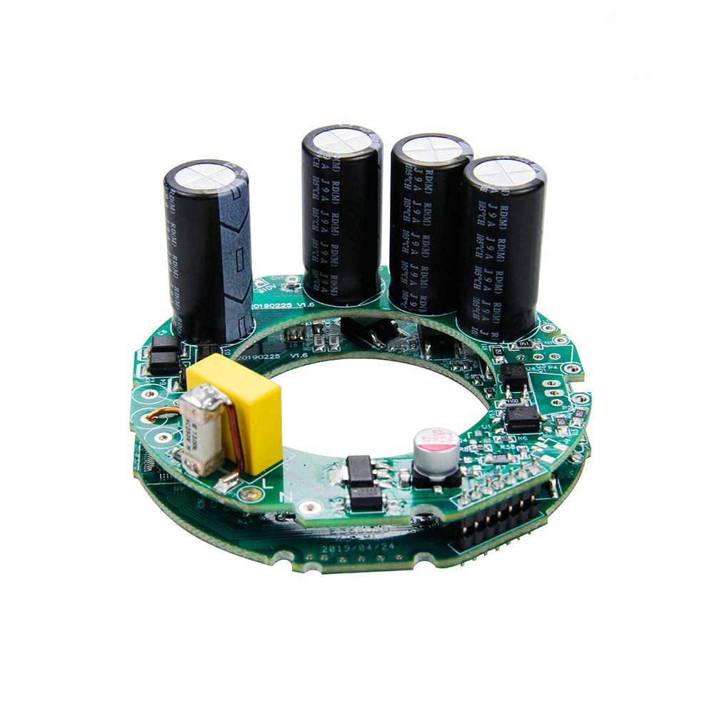 100000rpm High voltage 3 phase brushless DC motor controller for mini hair dryer
