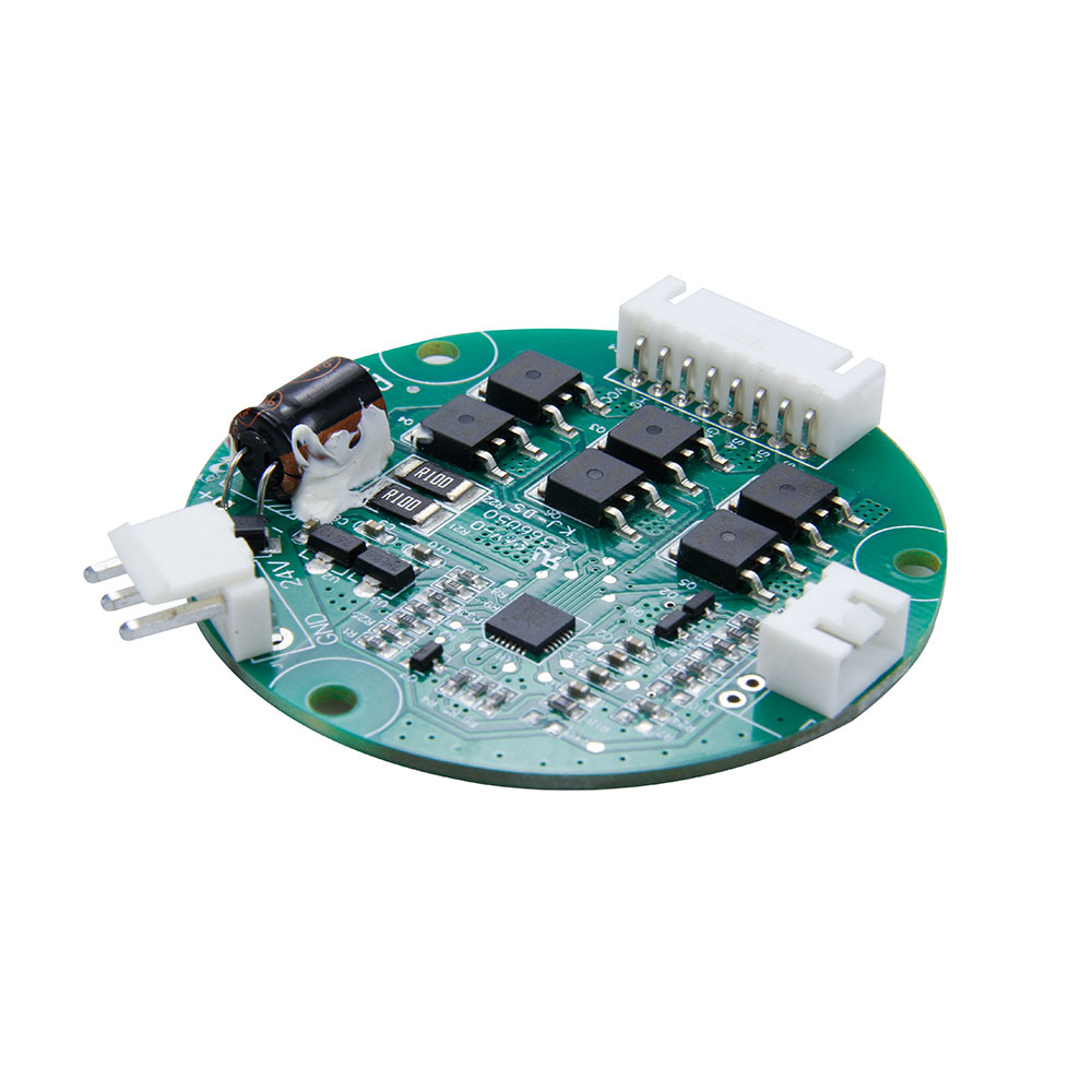 Low voltage 3 phase brushless DC motor controller for blower