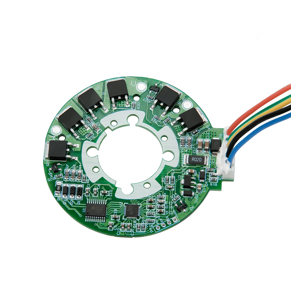 Low pressure 3 phase brushless DC motor controller for fascia gun muscle massager