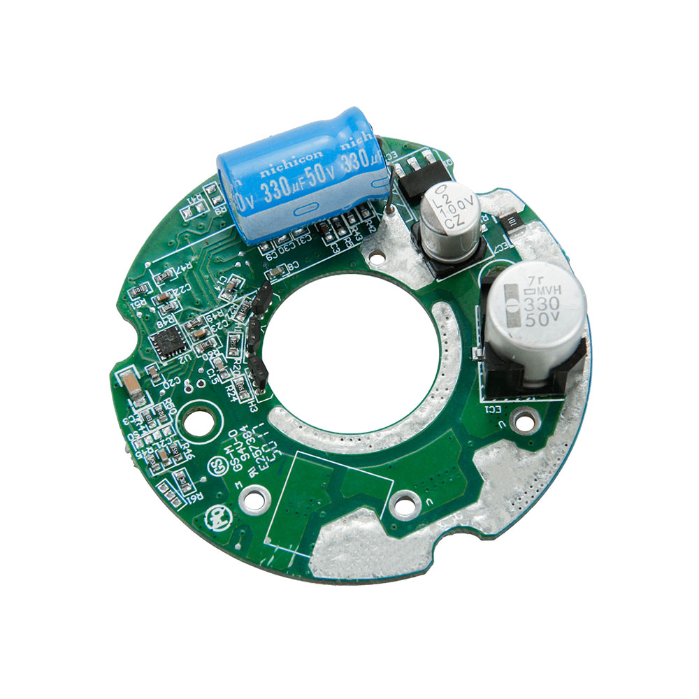 Low voltage 3 phase brushless DC motor controller for automotive water pump
