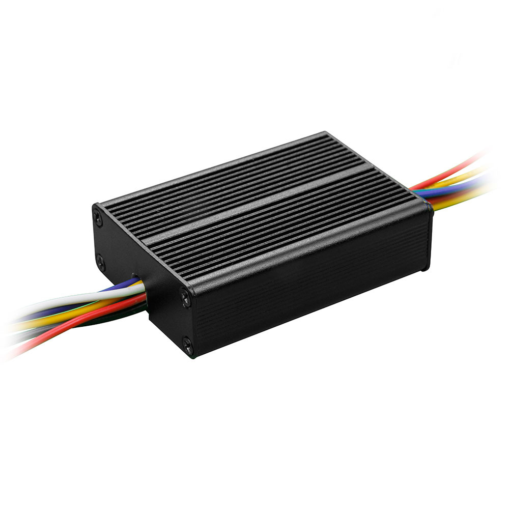 Low voltage 3 phase brushless DC motor controller for commercial stir-fry machine