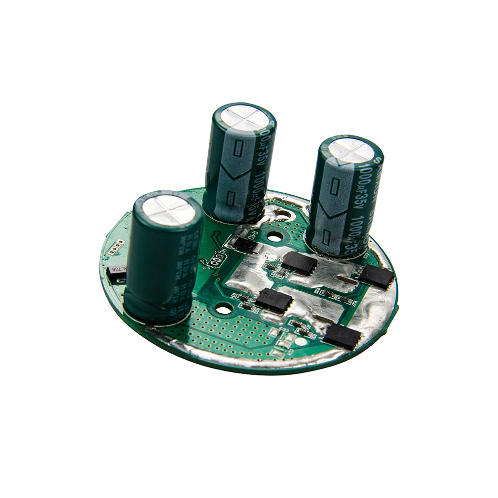 Low voltage single phase brushless DC motor controller for cordless vacuum cleaner / medical sputum aspirator / climbing equipment