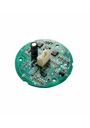 Low voltage 3 phase brushless DC motor controller for bladeless fan.